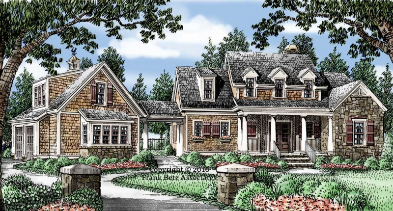 Haleys Farm House Plan Elevation