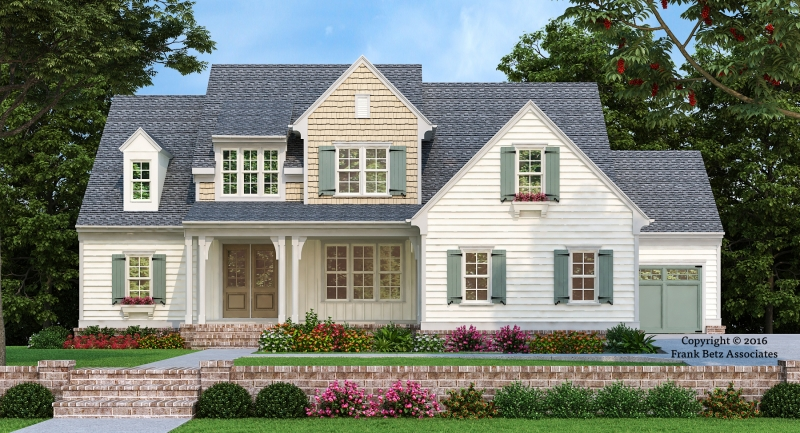 Statesboro House Plan Elevation