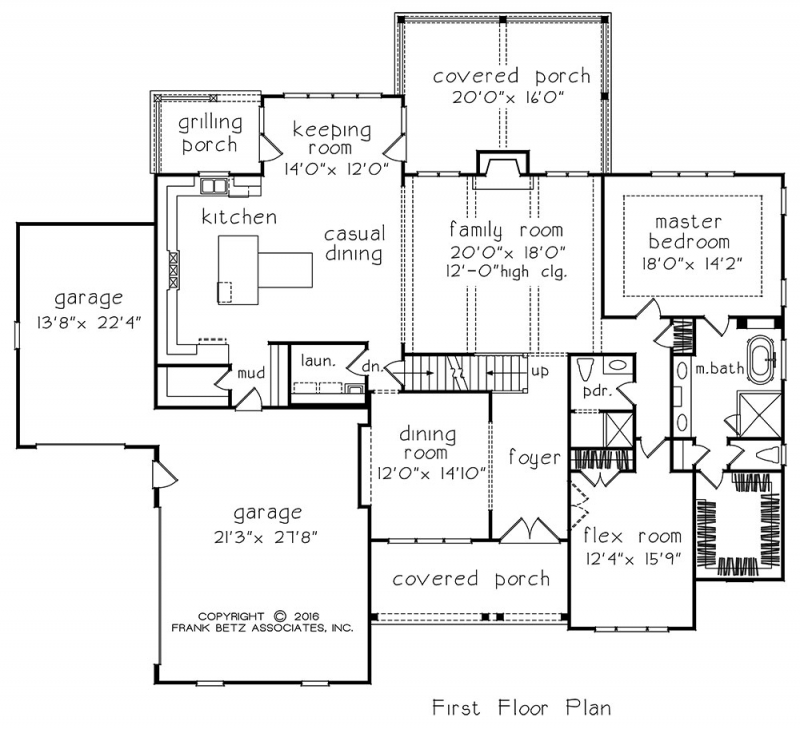 Filmore Park House Plan
