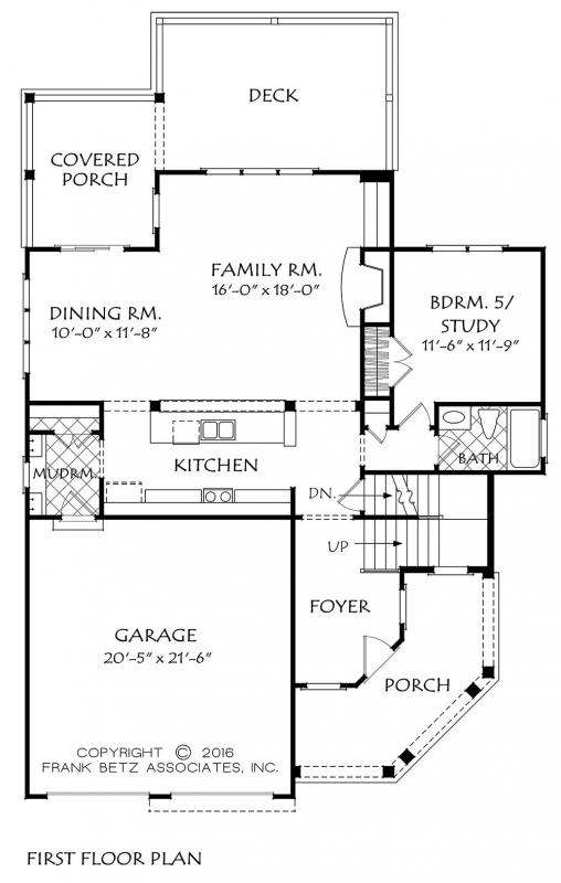 Mountain Laurel House Plan
