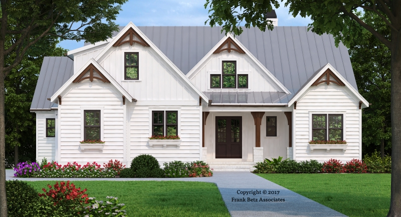 Hickory Flat House Plan Elevation