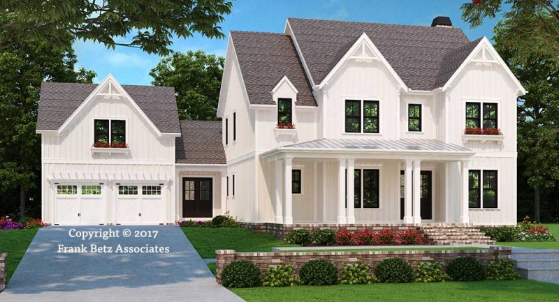 Seneca Falls House Plan Elevation