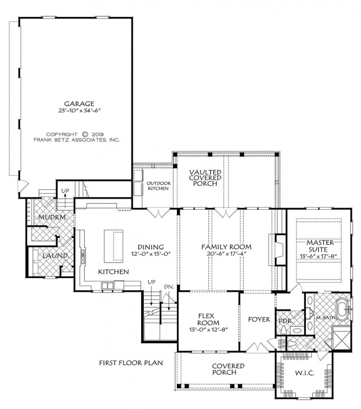 Harpers Ferry House Plan