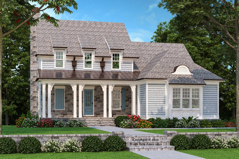 Beacon Falls House Plan Elevation