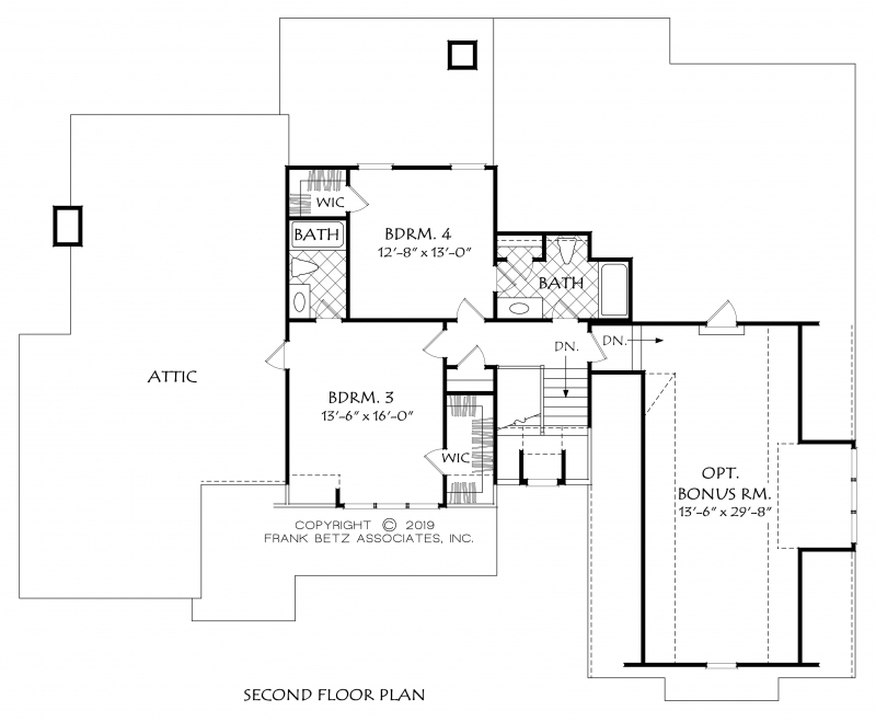 Kershaw House Plan