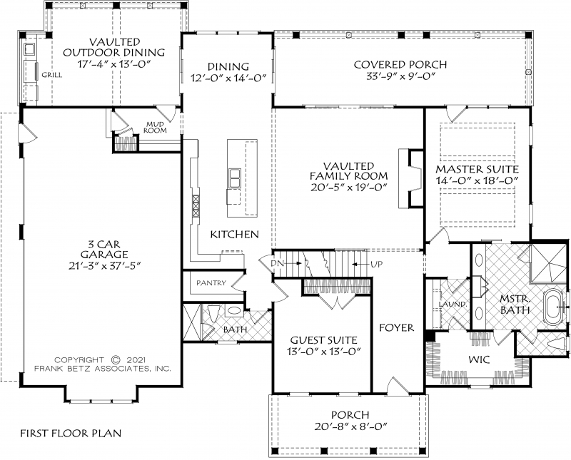 Brookfield Walk House Plan
