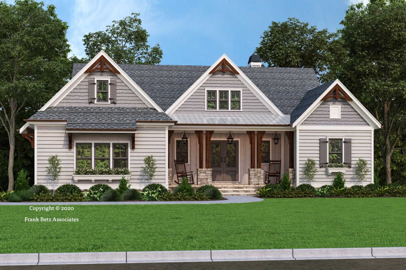 Lake Pointe House Plan Elevation