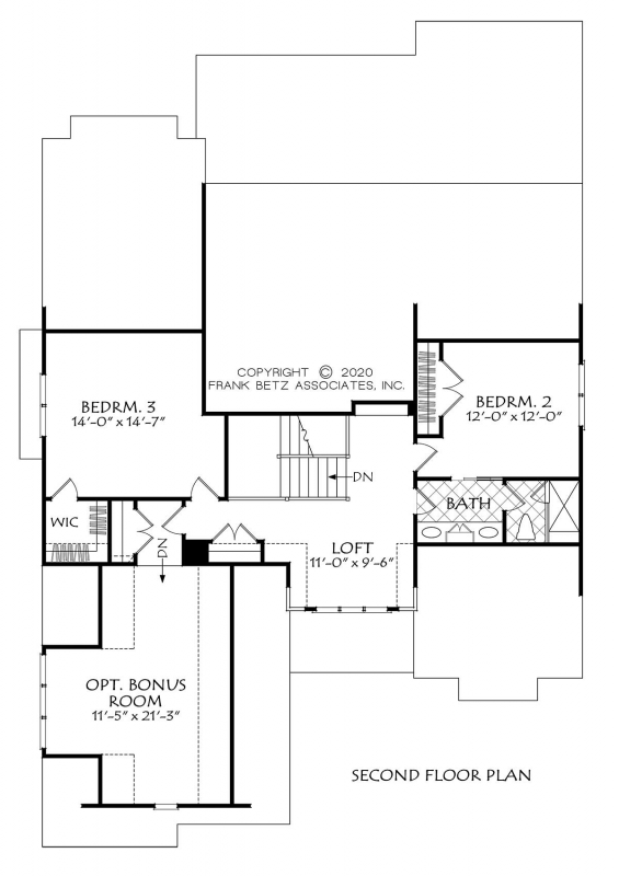 Madison Park House Plan