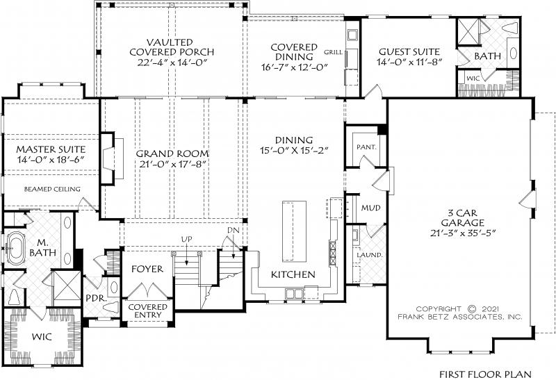 Bristol Walk House Plan