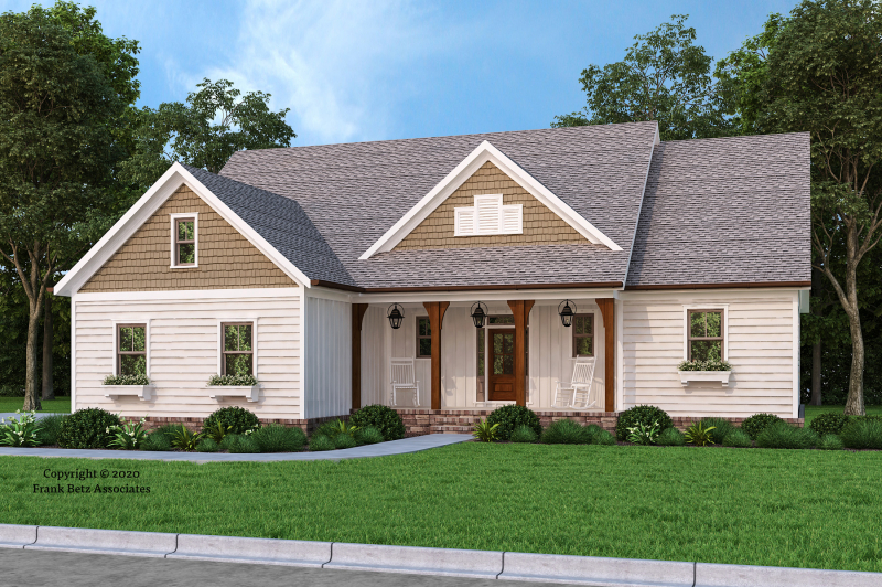 Silver Springs House Plan Elevation