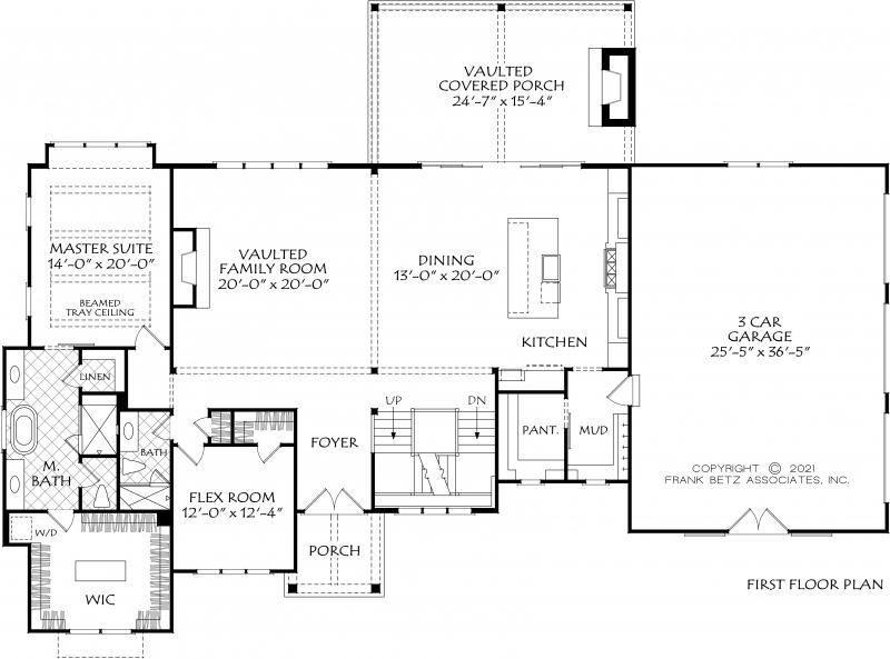 Bethel Park House Plan
