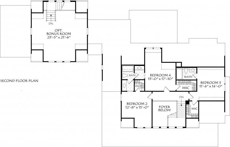 Magnolia Cottage House Plan