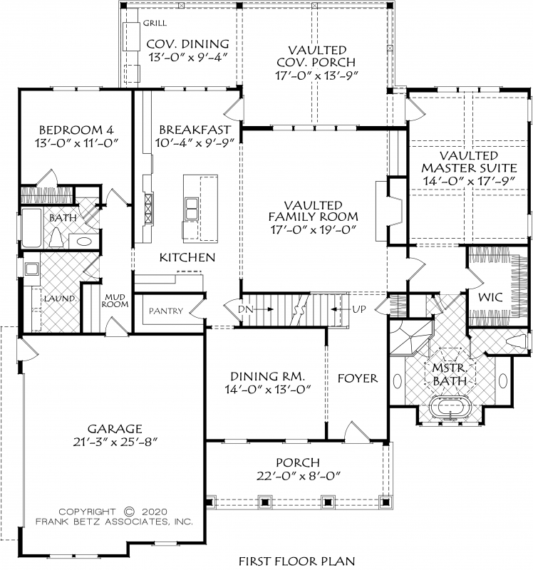 Shaker Heights House Plan