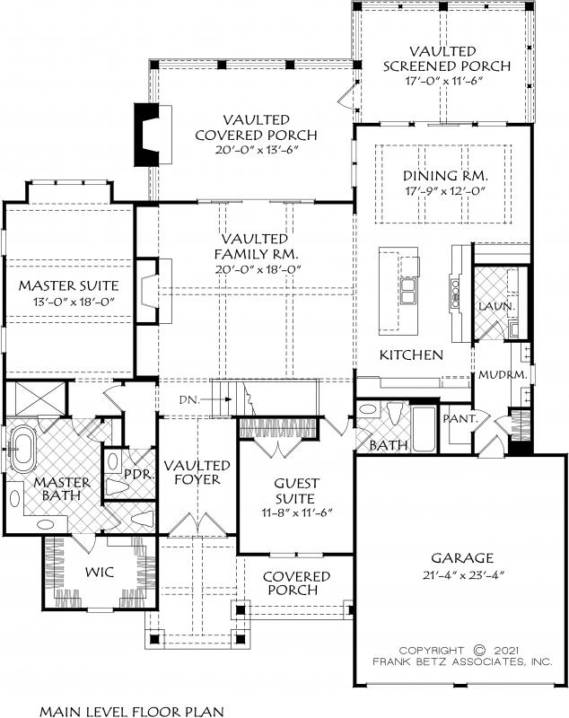 Taunton Place House Plan