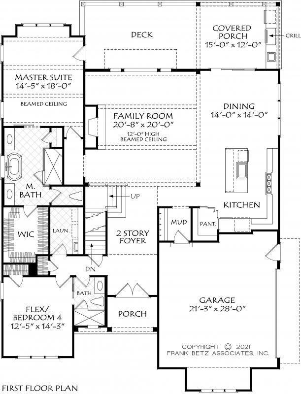 Teesdale House Plan