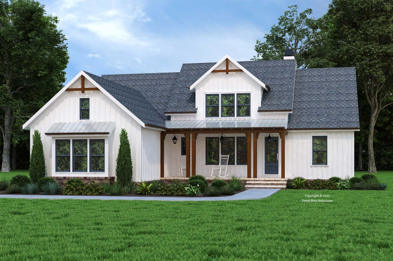 Waterbury Cottage House Plan