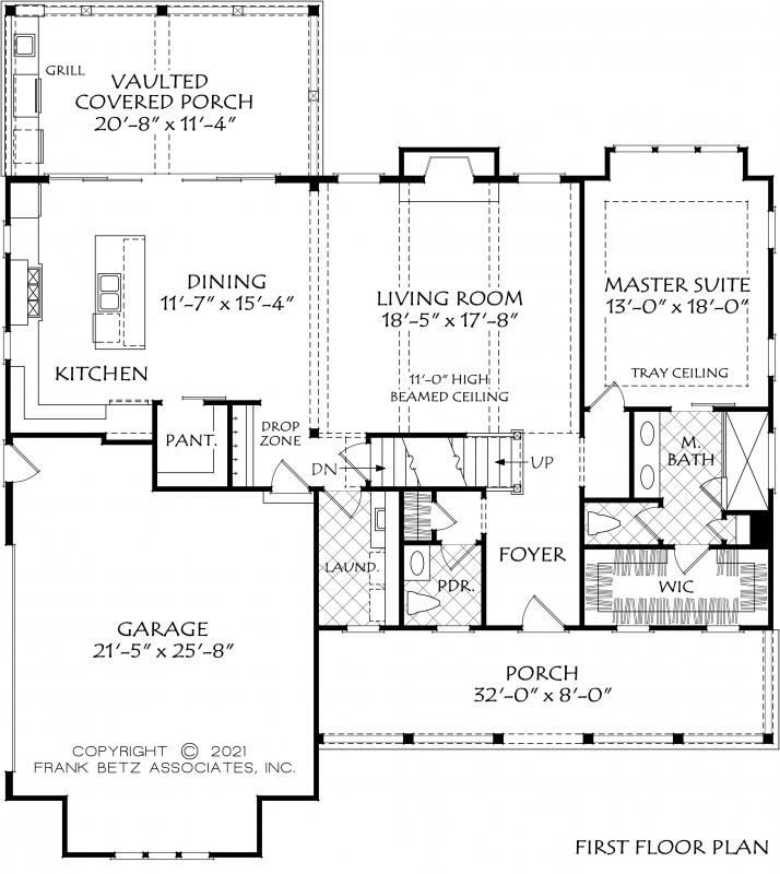 Haddington House Plan
