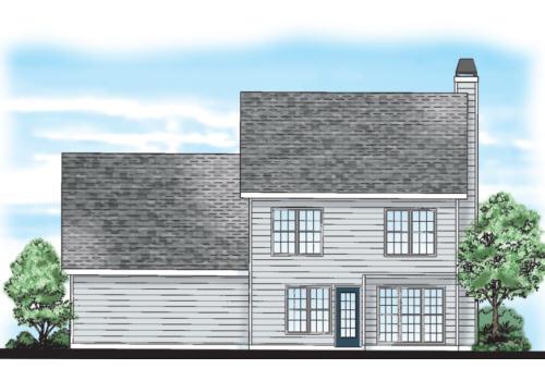 Oxford House Plan