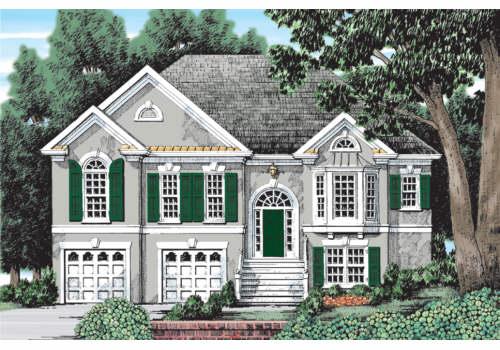 Topeka House Plan Elevation