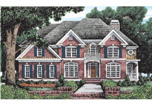 Carmichael House Plan
