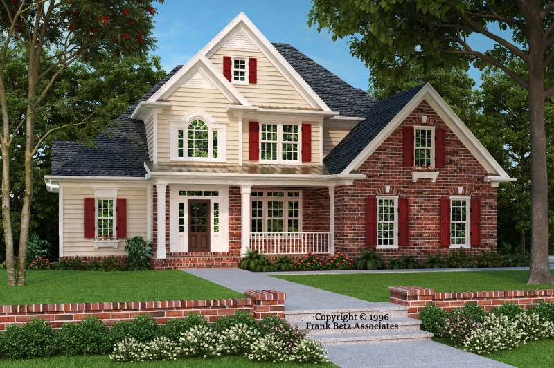 Brookhaven House Plan Elevation