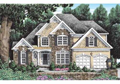 Mallory House Plan Elevation