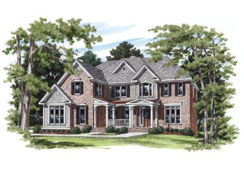Abernathy House Plan Elevation