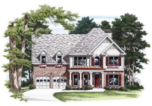 Asbury House Plan