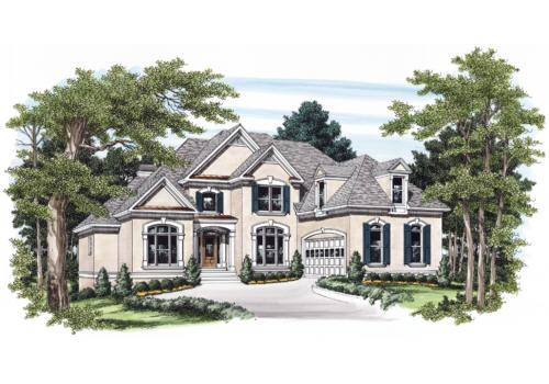 Bellevue House Plan