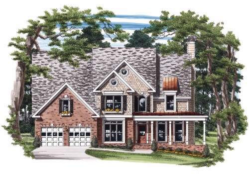Benson House Plan Elevation