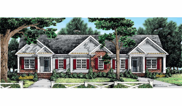 Berkeley Lake House Plan