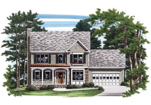 Bradstreet House Plan