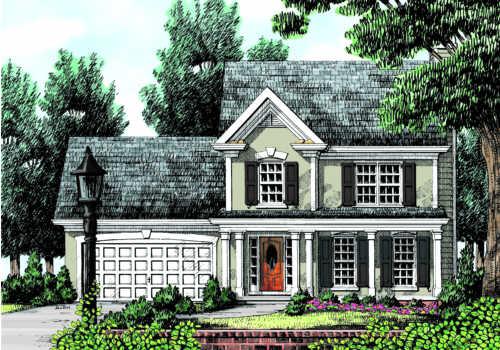 Camden House Plan
