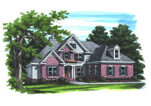 Clarissa House Plan Elevation