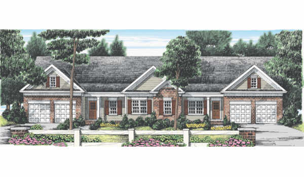 Cooper Lake House Plan Elevation
