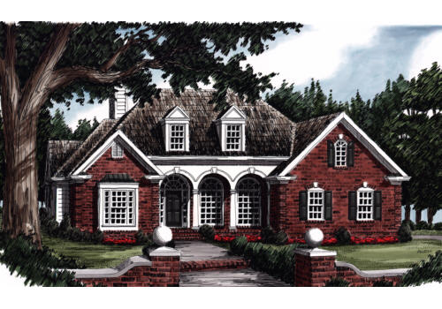 Cornelia House Plan Elevation