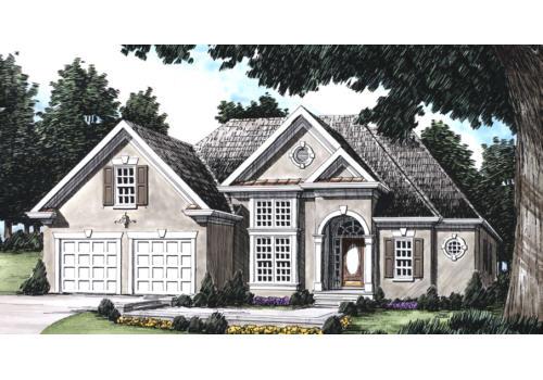Devonshire House Plan Elevation