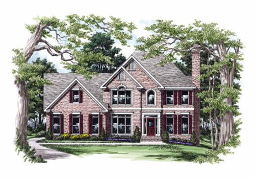 Evanston House Plan Elevation
