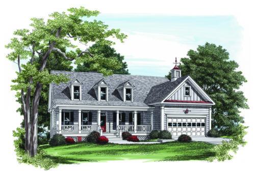 Farnsworth House Plan Elevation