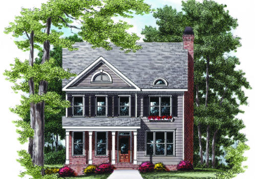 Gadsden House Plan Elevation