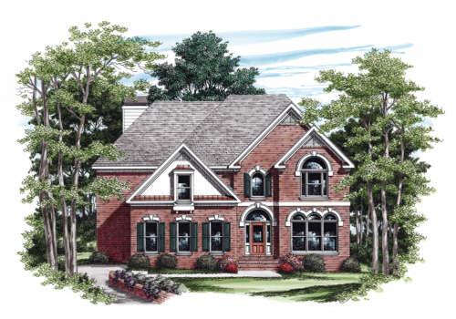 Garrison House Plan Elevation
