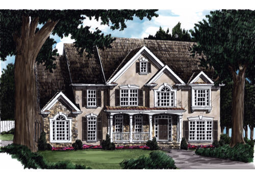 Gentry House Plan Elevation