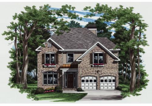 Hemmings House Plan Elevation