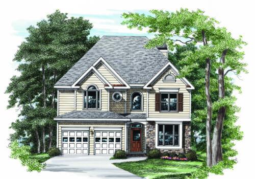 Hightower House Plan Elevation