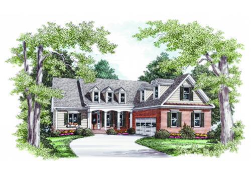 Honeycutt House Plan Elevation