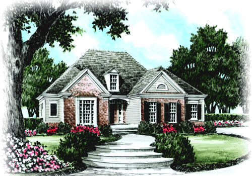 Idlewild House Plan Elevation