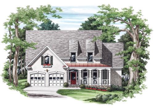 Irvington House Plan