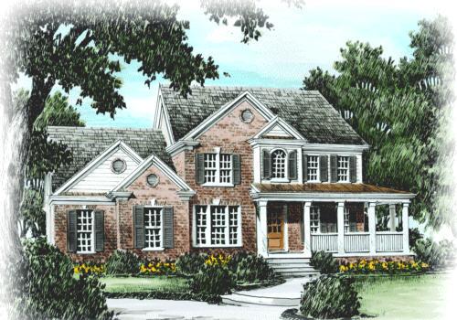 Jackson Springs House Plan Elevation