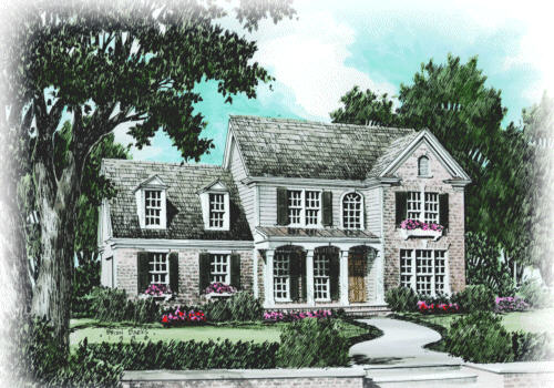 Jessamine Park House Plan Elevation