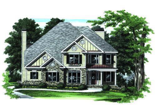 Kennestone House Plan